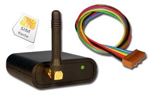 GSM Pager für Alarmmeldung