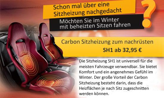 Carbon Sitzheizung zum günstigen Preis